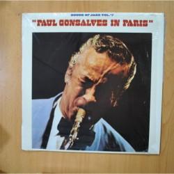 PAUL GONSALVES - PAUL GONSALVES IN PARIS - LP