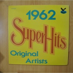 VARIOUS - SUPER HITS 1962 - LP