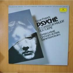 DANIEL BARENBOIM - ORCHESTRE DE PARIS - PSYCHE - LE CHASSEUR MAUDIT NOCTURNE - LP
