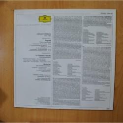 HANDEL - WATER MUSIC - LP