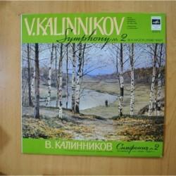 V. KALINNIKOV - SYMOHONY Nº 2 - LP