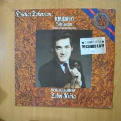 ZUBIN MEHTA - ISRAEL PHILHARMONIC - TCHAIKOVSKY - VIOLIN CONCERTO - LP