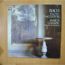 JAMES GALWAY - BACH - FLUTE CONCERTOS - LP