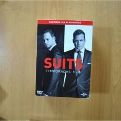 SUITS - TEMPORADAS 1 A 6 - DVD