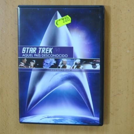 STAR TREK VI AQUEL PAIS DESCONOCIDO - DVD