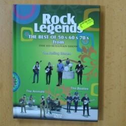 ROCK LEGENDS THE BEST OF 50´S 60´S 70´S ROLLING STONES / ANIMALS / BEATLES - DVD