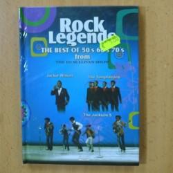 ROCK LEGENDS - JACKIE WILSON / TEMPTATIONS / JACKSON 5 - DVD