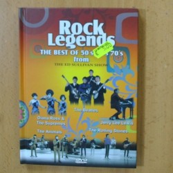 ROCK LEGENDS - DIANA ROSS & THE SUPREMES / BEATLES / JERRY LEE LEWIS / ANIMALS / ROLLING STONES - DVD