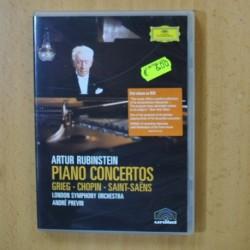 ARTUR RUBINSTEIN - PIANO CONCERTOS - DVD