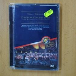 CLAUDIO ABBADO - EUROPEAN CONCERT 1998 - DVD