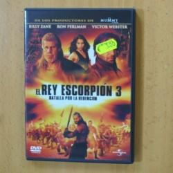 EL REY ESCORPION 3 - DVD