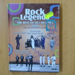 ROCK LEGENDS - IKE TINA TURNER JAMES BROWN STEVIE WONDER SMOKEY ROBINSON & MIRACLES FOUR TOPS - DVD
