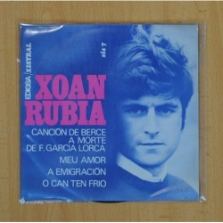 XOAN RUBIA - CANCION DE BERCE + 3 - EP