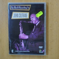 JOHN COLTRANE - THE WORLD ACCORDING TO - DVD