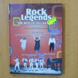 ROCK LEGENDS - LOUIS ARMSTRONG LIZA MINNELLI HARRY BELAFONTE TEMPTATIONS RAY CHARLES - DVD