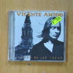 VICENTE AMIGO - CIUDAD DE LAS IDEAS - CD