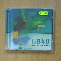 UB40 - GUNS IN THE GHETTO - CD