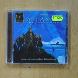 JAMES NEWTON HOWARD - ATLANTIS THE LOST EMPIRE - CD