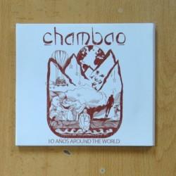 CHAMBAO - 10 AÑOS AROUND THE WORLD - 2 CD