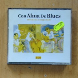 VARIOS - CON ALMA DE BLUES - 2 CD
