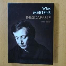 WIM MERTENS - INESCAPABLE 1980 / 2020 - 4 CD