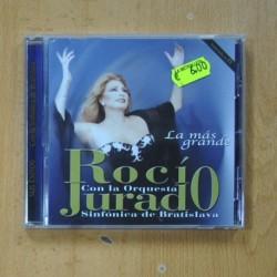 ROCIO JURADO - LA MAS GRANDE CON LA ORQUESTA SINFONICA DE BRATISLAVA - CD