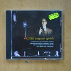 VARIOS - AZAÑA UNA PASION ESPAÑOLA - CD