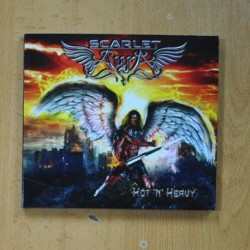 SCARLET AURA - HOT N HEAVY - CD