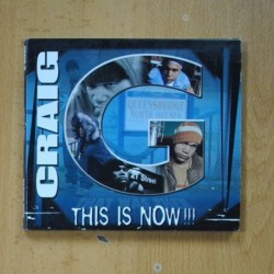 CRAIG - THIS IS NOW - CD