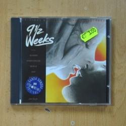 VARIOS - 9 1 / 2 WEEKS - CD