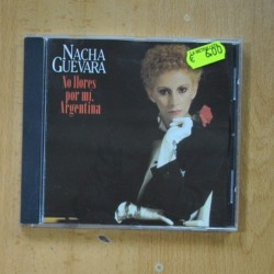 NACHA GUEVARA - NO LLORES POR MI ARGENTINA - CD