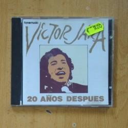 VICTOR JARA - 20 AÑOS DESPUES - CD