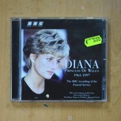 VARIOS - DIANA PRINCESS OF WALES - CD