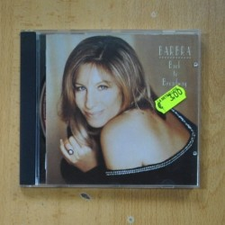 BARBRA STREISAND - BACK TO BROADWAY - CD