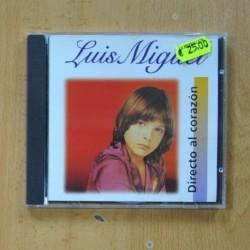 LUIS MIGUEL - DIRECTO AL CORAZON - CD