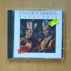 LOS INDIOS TABAJARAS - ANTOLOGIA - CD