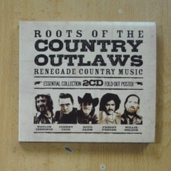 VARIOS - ROOTS OF THE COUNTRY OUTLAWS - 2 CD
