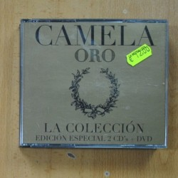 CAMELA - ORO - 2 CD + DVD
