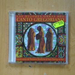 VARIOS - LAS MEJORES OBRAS DEL CANTO GREGORIANO - CD