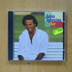 JULIO IGLESIAS - CALOR - CD