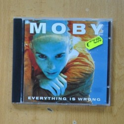 MOBY - EVERYTHING IS WRONG - CD