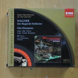 WAGNER - DER FLIEGENDE HOLLANDER - CD
