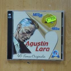 AGUSTIN LARA - LO MEJOR DE - 2 CD