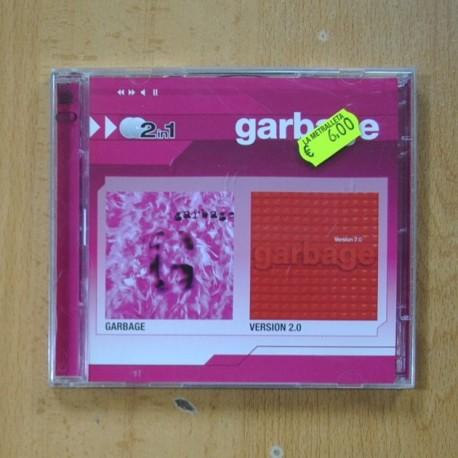GARBAGE - GARBAGE / VERSION 2.0 - 2 CD