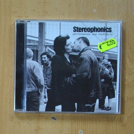 STEREOPHONICS - PERFORMANCE AND COCKTAILS - CD
