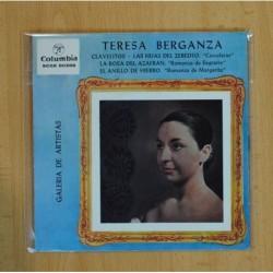 TERESA BERGANZA - CLAVELITOS + 3 - EP