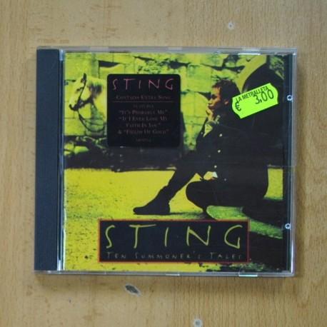 STING - TEN SUMMONER´S TALES - CD
