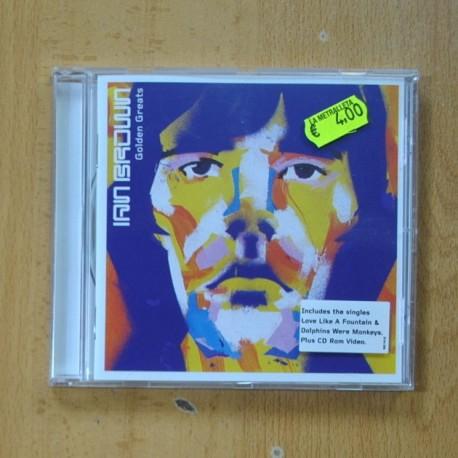IAN BROWN - GOLDEN GREATS - CD