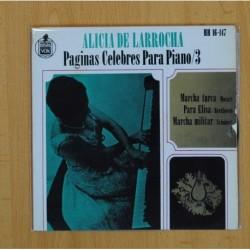 ALICIA DE LARROCHA - MARCHA TURCA + 2 - EP