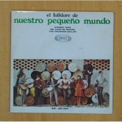 EL FOLKLORE DE NUESTRO PEQUEÑO MUNDO - SINNER MAN +2 - EP